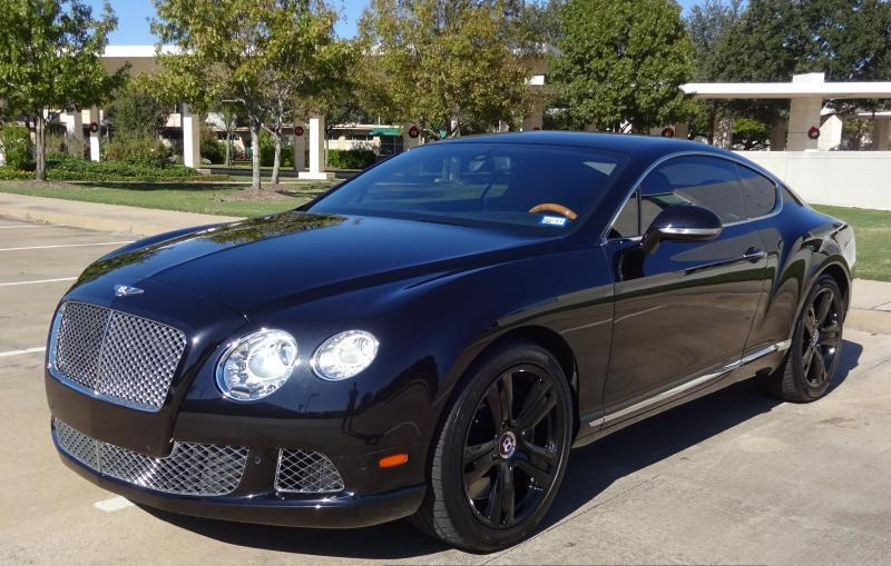 2012 Bentley Continental GT AWD 2dr Coupe
