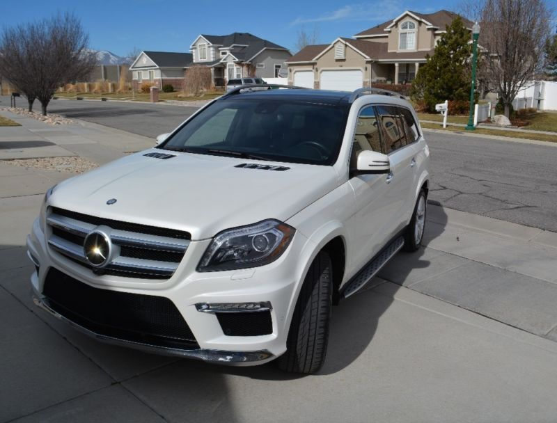 2014 Mercedes-Benz GL-Class GL550  DESIGNO  DISTRNC+  REAR DVD  PANO