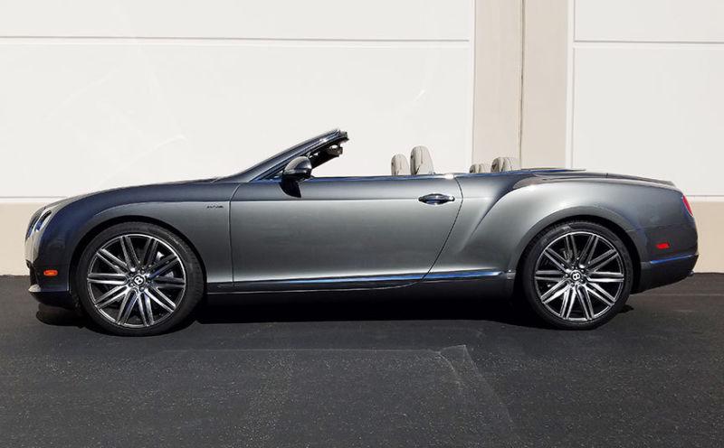 2014 Bentley Continental GT GTC Speed Convertible 2-Door