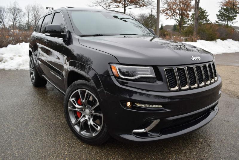 2014 Jeep Grand Cherokee 4WD SRT-EDITION  Sport Utility 4-Door