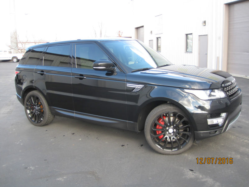 2014 Land Rover Range Rover Sport Supercharged Sport Utility 4-Door