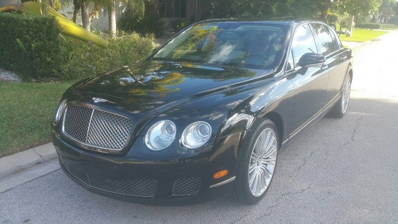 2009 Bentley Continental GT Flying Spur Speed Mulliner