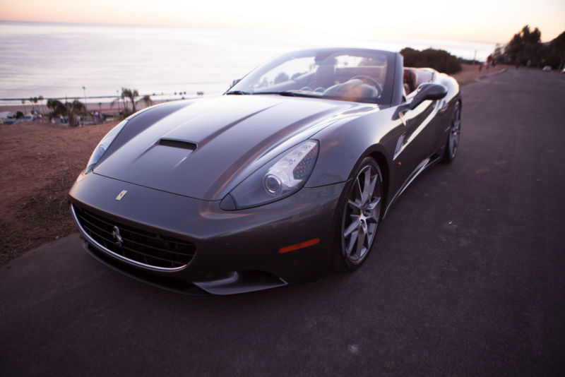 2012 Ferrari California Base Convertible 2-Door