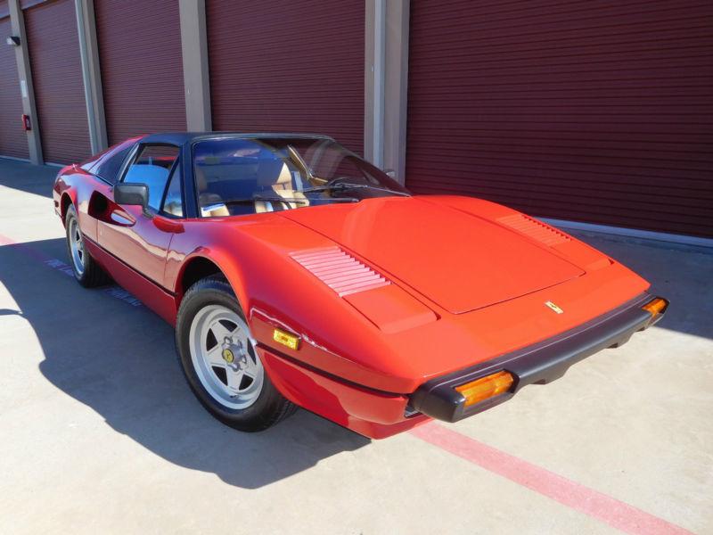 1982 Ferrari 308 308 Ferrari, Recent major service, 23k miles