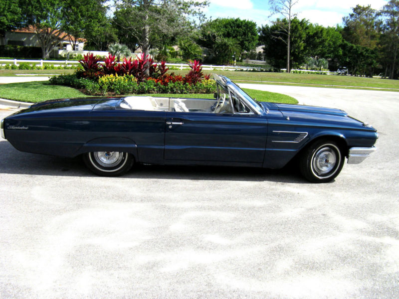 1965 Ford Thunderbird Base Convertible 2-Door
