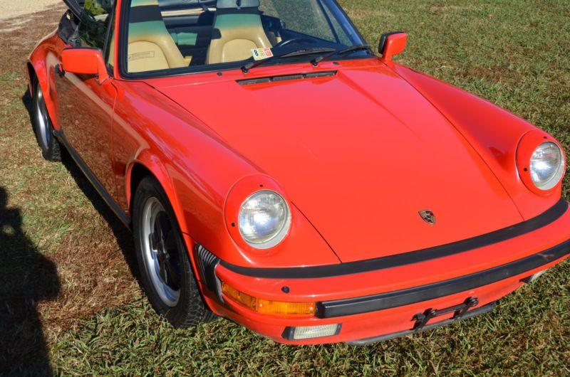 1986 Porsche 911 Carrera Convertible 2-Door