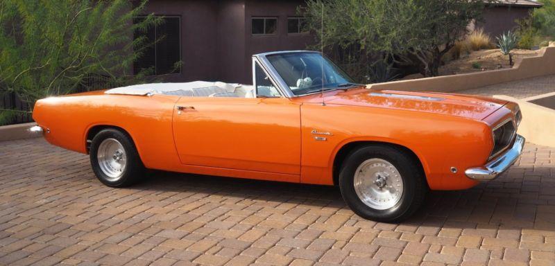 1968 Plymouth Barracuda na