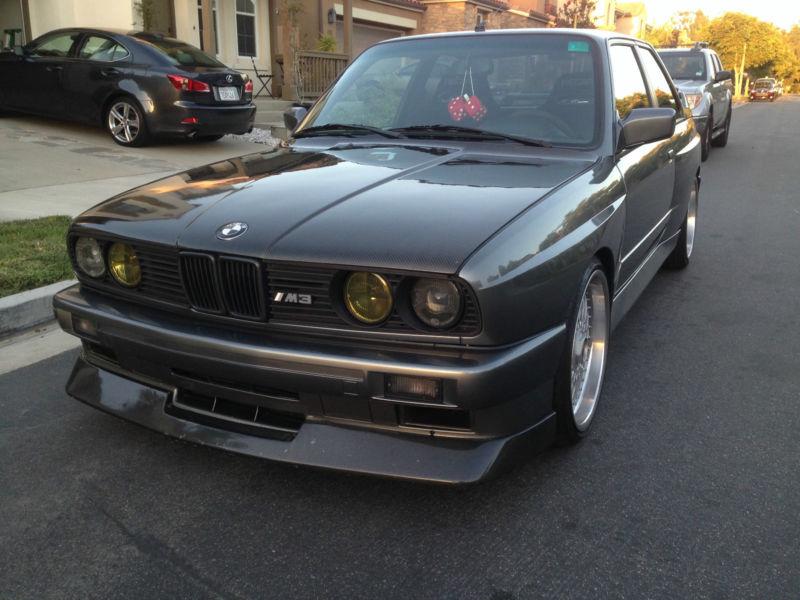 1988 BMW M3 2 DOOR