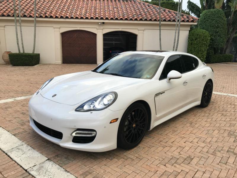 2012 Porsche Panamera S Hybrid Hatchback 4-Door