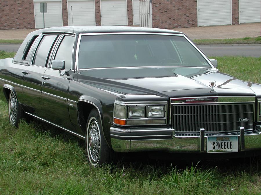 1983 Cadillac Fleetwood 75 Factory Limousine