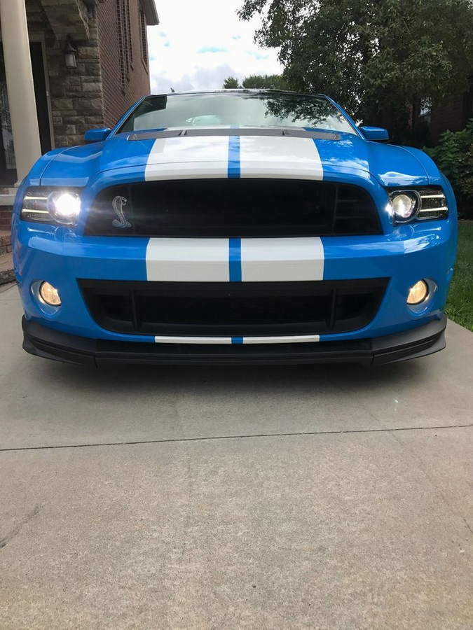 2014 Ford Mustang Shelby GT500 Coupe 2-Door