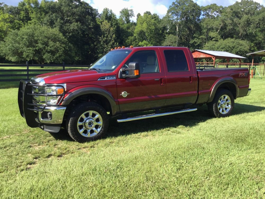 2015 Ford F-250 Leather