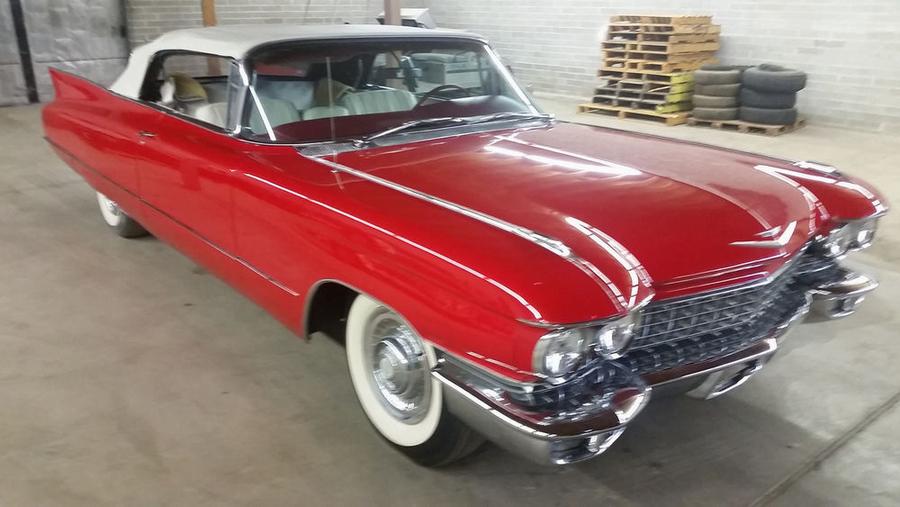 1960 Cadillac DeVille Convertable