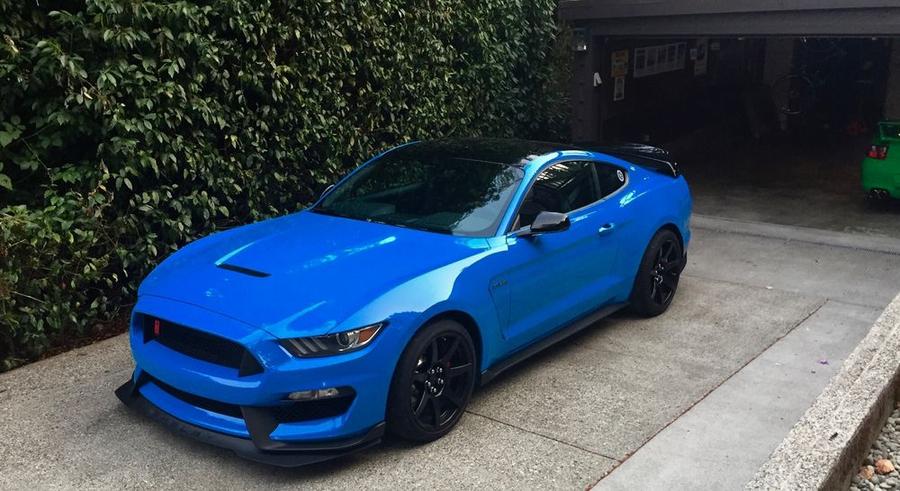 Grabber Blue Mustang >> 2017 Ford Mustang Gt350r