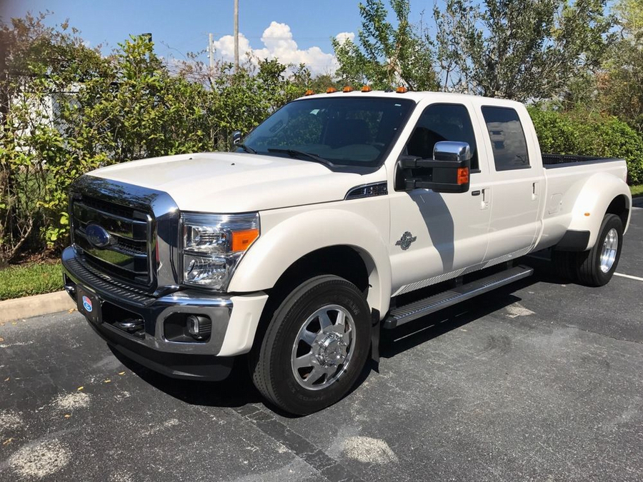 2016 Ford F-350 Platinum - White