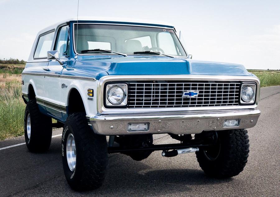 72 Chevy Truck For Sale >> 1972 Chevrolet Blazer 5 0