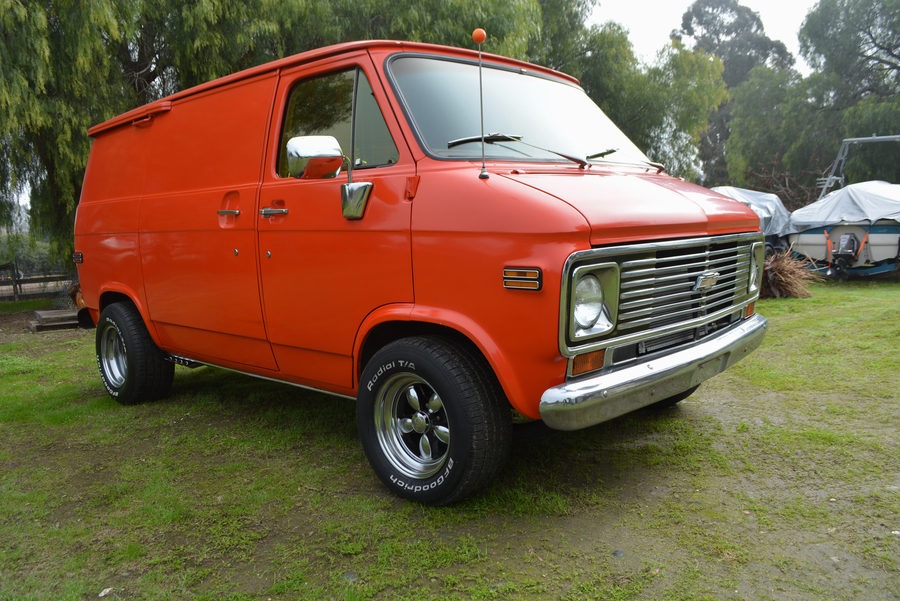 1974 Shorty Chevy G10 Van for Sale