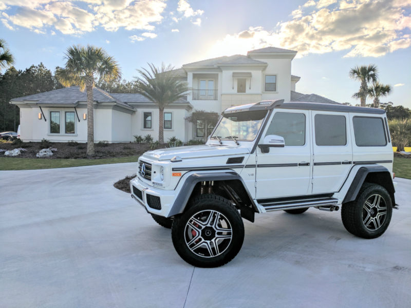 2017 Mercedes-Benz G-Class G550 4dr SUV 4WD (5.5L 8cyl 7A)