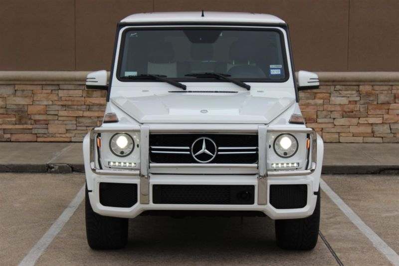 2014 Mercedes-Benz G-Class G63 AMG 4dr SUV 4WD (5.5L 8cyl Turbo 7A)