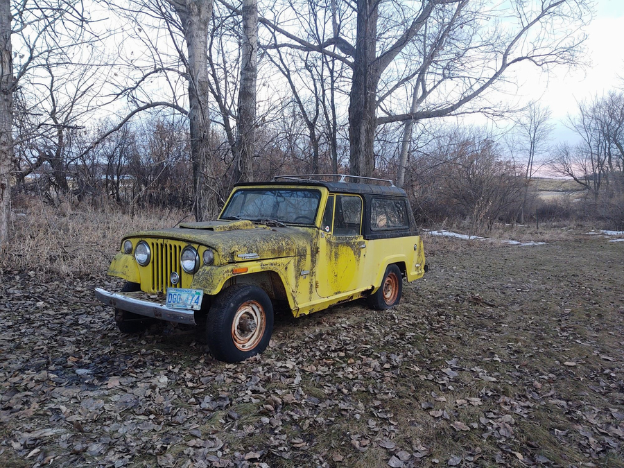 1971 Jeepster Commando with Hurst Package