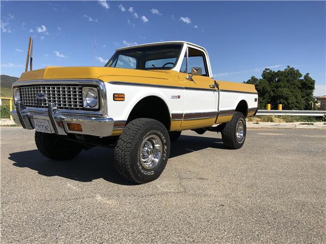 1972 Chevrolet C-10 4X4 CHEYENNE 4WD