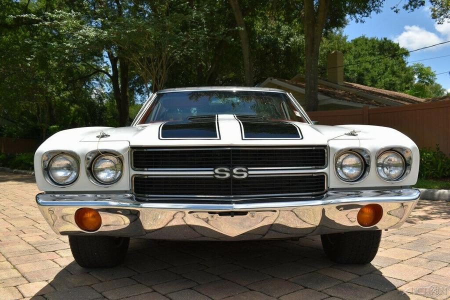 1970 Chevrolet El Camino 85k Actual Miles 400ci V-8 Automatic Power Steerin