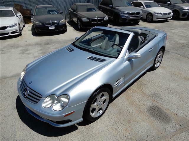 2004 Mercedes-benz SL 500
