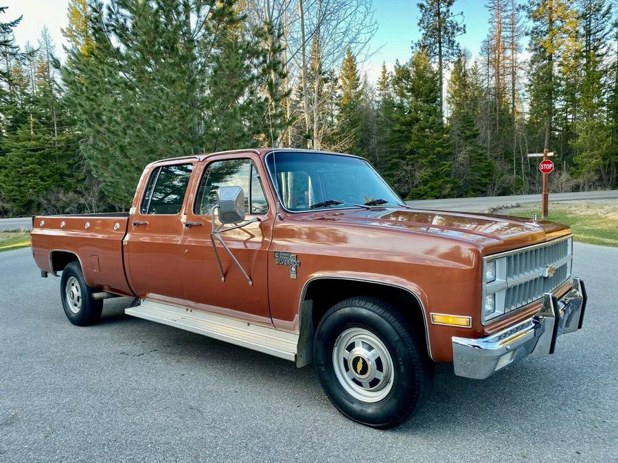 1982 Chevrolet C-20 Silverado