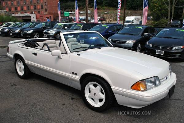 1993 Ford Mustang Convertible LX 5.0L