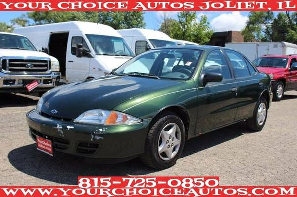 2001 CHEVROLET CAVALIER 79K GAS SAVER CD GUD TIRES LOW PRICE 177874