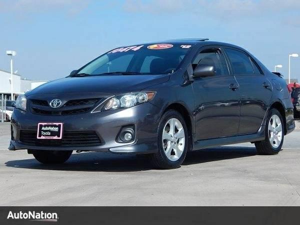 2012 Toyota Corolla S SKU:CP018215 Toyota Corolla S Sedan