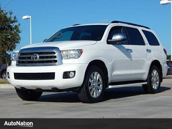 2013 Toyota Sequoia Limited SKU:DS044833 Toyota Sequoia Limited SUV