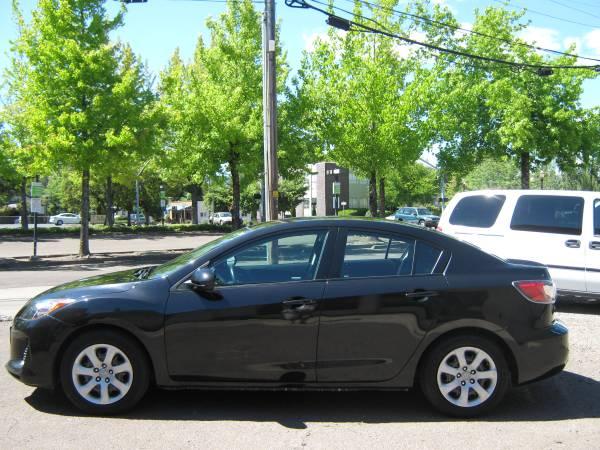 2012 Mazda3 Black, Automatic, 63K, Clean title