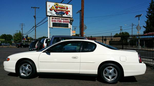 2004 Chevrolet Monte Carlo LS NO CREDIT CHECKS! 0% Interest!