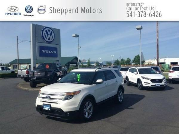 2012 Ford Explorer 4WD 4dr Limited SUV Explorer Ford