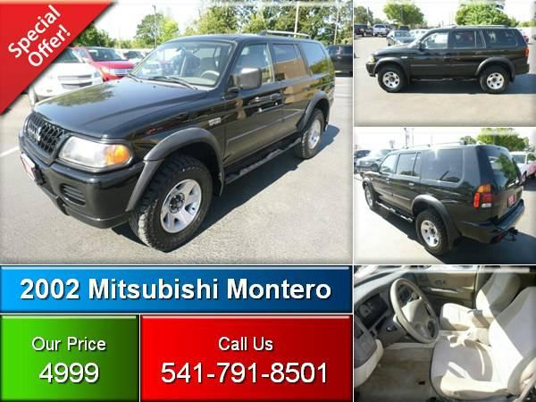 2002 Mitsubishi Montero Sport LS AWD