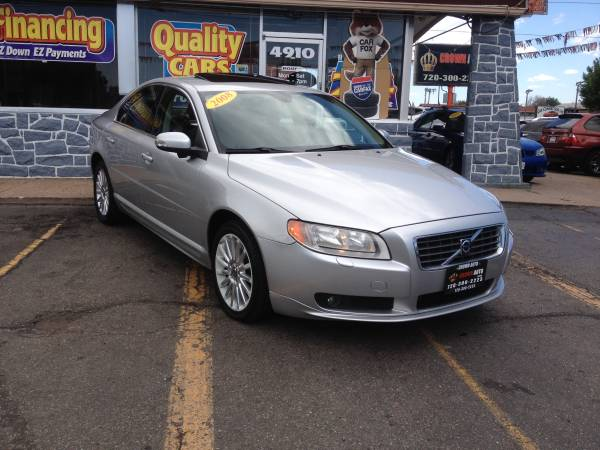 2008 Volvo S80 105K Lots of Service Records Clean Carfax Clean Title
