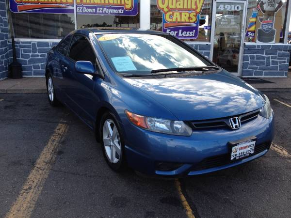 2007 Honda Civic EX 91K One Owner 5 Speed Clean Carfax Clean Title