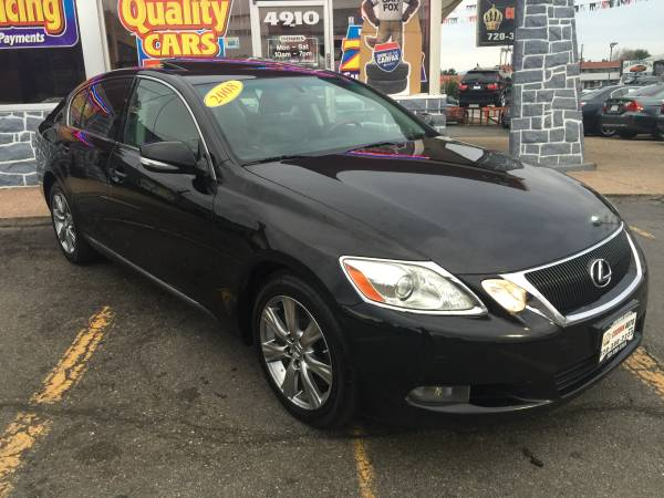 2008 Lexus GS350 AWD BLACK Heated/AC Seats Leather Loaded