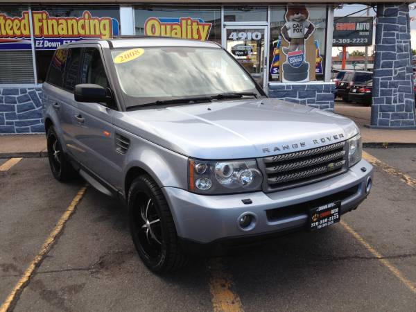 2008 Range Rover Sport HSE AWD 115K New Tires Excellent Condition