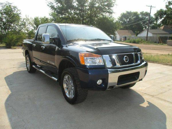 2012 *Nissan* *Titan* 4WD Crew Cab SWB SL - CALL/TEXT TODAY!
