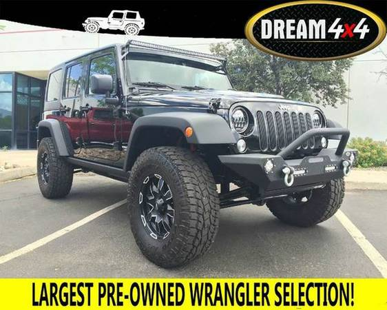 2015 *Jeep* *Wrangler* *Unlimited* Rubicon 4x4 4dr SUV - BEST JEEPS...