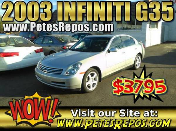 2003 Infiniti G35 - Great Condition G35 Fully Loaded