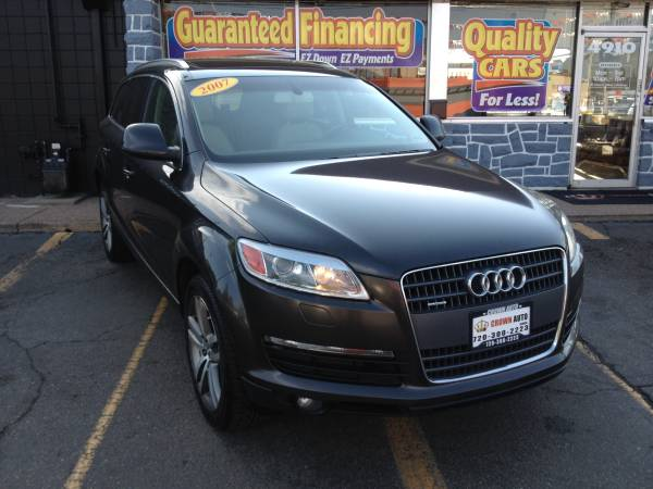 2007 Audi Q7 3.6 Quattro ,3rd Row Sea 1 Owner Lots of Sevice Records