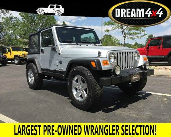 2005 *Jeep* *Wrangler* X 2dr 4WD SUV - BEST JEEPS IN COLORADO
