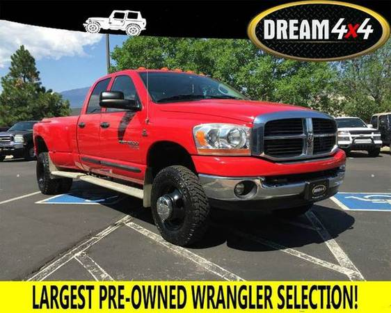 2006 *Dodge* *Ram* *Pickup* *3500* SLT 4dr Quad Cab 4WD LB DRW - BEST