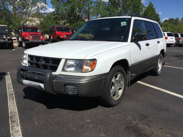 2000 SUBARU FORESTER RUNS AND DRIVES GREAT!! AWESOME DEAL!! DEAL!!