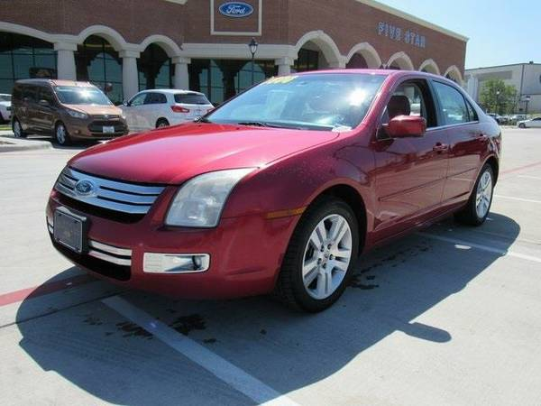 2007 *Ford Fusion* SEL - Ford Merlot Clearcoat Metallic