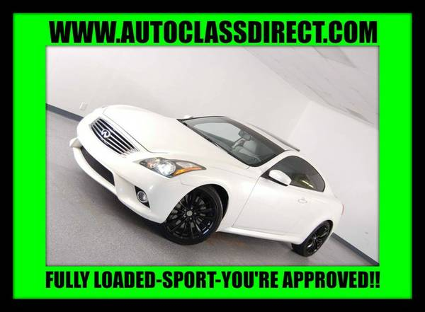2011 Infiniti G37 Coupe Moonlight White ON SPECIAL!