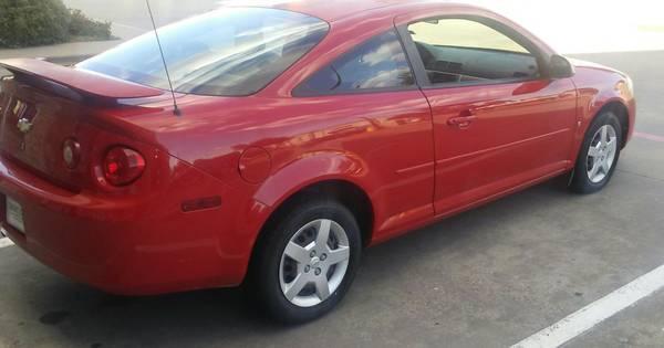Red 2007 Chevy Colbalt LT...